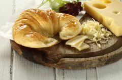 Chrupi�ce rogaliki z ��tym serem