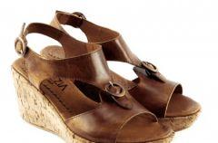 Kolekcja obuwia Venezia w odcieniach br�zu wiosna-lato 2009