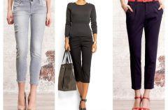 Najmodniejsze d�ugo�ci spodni na sezon wiosna lato 2012