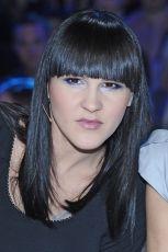 Agnieszka Chyli�ska w blond w�osach