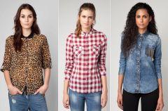 Bluzki i koszule Bershka - jesie� i zima 2012/13
