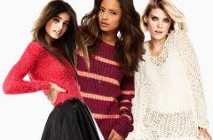 Swetry na zim� - 4 pomys�y z czym je ��czy�!