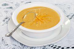 Zupa z sera topionego