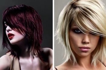 Ci�cie warstwami - trendy fryzjerskie 2011