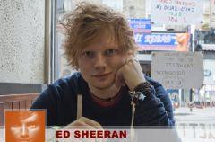 Ed Sheeran rzuci� na kolana Wielk� Brytani�!