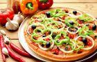 Warzywna pizza �r�dziemnomorska