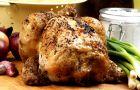 Nadziewany kurczak z warzywami