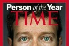 Tw�rca Facebooka - Mark Zuckerberg - Cz�owiekiem Roku 2010