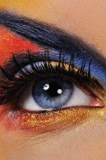 Makija� wieczorowy oczu - karnawa�