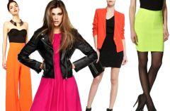 Neonowe ubrania i dodatki - przeb�j wiosny 2013!