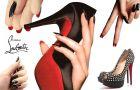 Louboutin nails - dwustronny manicure