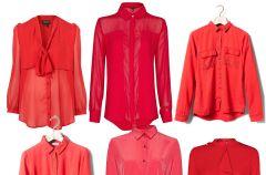 Czerwona koszula - przeb�j jesieni!
