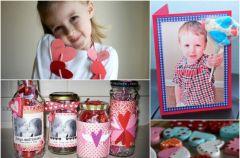 Walentynkowe upominki, kt�re przygotujesz z dzieckiem