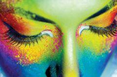 Kolorowy makija� oczu