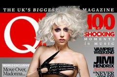 """Uhlala... p�naga Lady GaGa na ok�adce """"Q Magazine"""""""