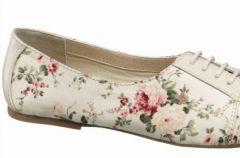 Kwiatowe wzory - kolekcja Deichmann na wiosn� i lato 2012