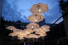 Deszcz parasoli
