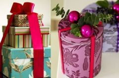 Pakowanie �wi�tecznych prezent�w