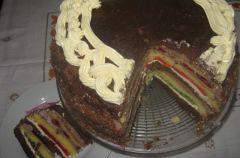 Tort z galaretkami