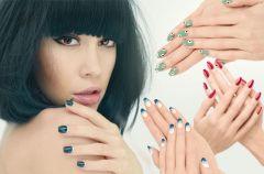 Modny manicure - 6 pomys��w