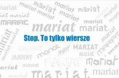 "Maria Szafran ""Stop. To tylko wiersze"""