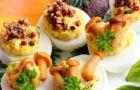 Jajka faszerowane past� - przepis