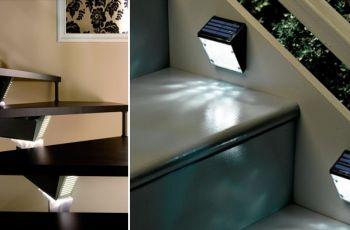 O�wietlenie schod�w wewn�trznych - pod�wietlane schody