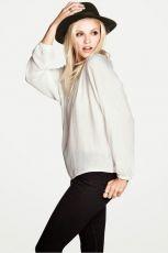 Ginta Lapina w pa�dziernikowym lookbooku H&M - H&M