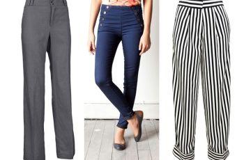 Spodnie z wysokim stanem - d�ugie nogi na wiosn� i lato 2012