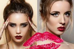 Ciemne usta - jesienny trend w makija�u