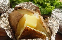 Ziemniaki nadziewane serem