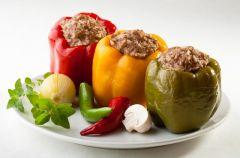 Papryka faszerowana mi�sem - Lekka kuchnia