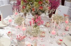 Romantyczna aran�acja sto�u weselnego