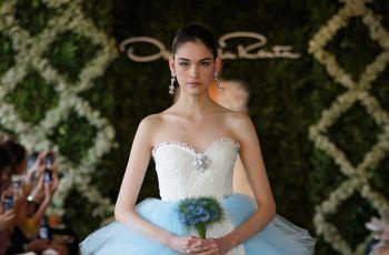 Oryginalne suknie �lubne - Oscar de la Renta 2013 - garsonki �lubne