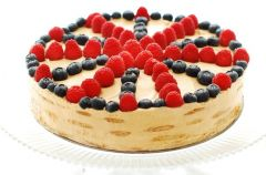 Ciasteczkowe ciasto - przepis z bloga Kuchnia nad Atlantykiem