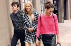 Sk�rzane sp�dniczki kopertowe - hit jesieni