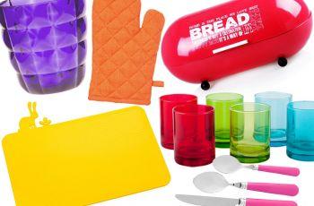 20 dodatk�w do kuchni w wyrazistych kolorach
