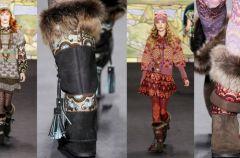Futrzane buty -  Najwa�niejsze trendy 2011