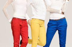 Kolorowe spodnie - trendy na wiosn� i lato 2012!