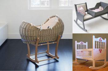 Stylowe ko�yski dla niemowl�t - ��eczka bujane