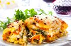 Warzywna lasagne dla wegetarian