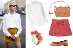 Z czym nosi� szorty? - trendy z mody ulicznej
