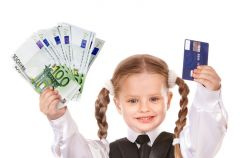 Konto w banku i karta p�atnicza dla dziecka