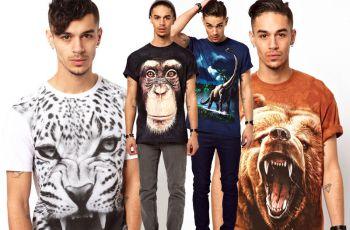 Koszulki 3D - top 10! - ubrania dla m�czyzn