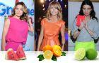 Kolory fluorescencyjne na lato - jak nosz� je celebrytki?