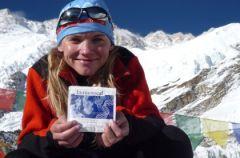 Kinga Baranowska zdobywa trzeci szczyt �wiata - Kanczendzong�