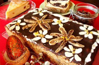 Wielkanocny mazurek - potrawy wielkanocne