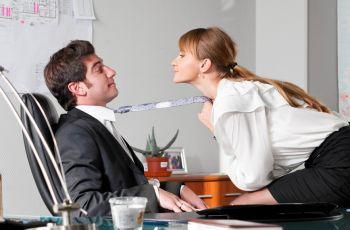 Seks-pozycje na weso�o: W pracy