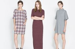 Sukienki Zara na jesie� i zim� 2013/14