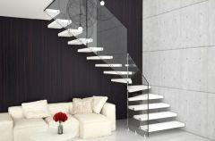 Szklane schody - inspiracje